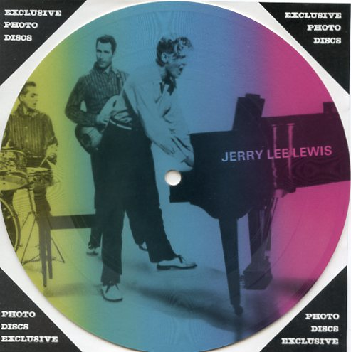 "JERRY LEE LEWIS ""Masters of Rock & Roll vol. 1 PR 14""(Pict.disc"